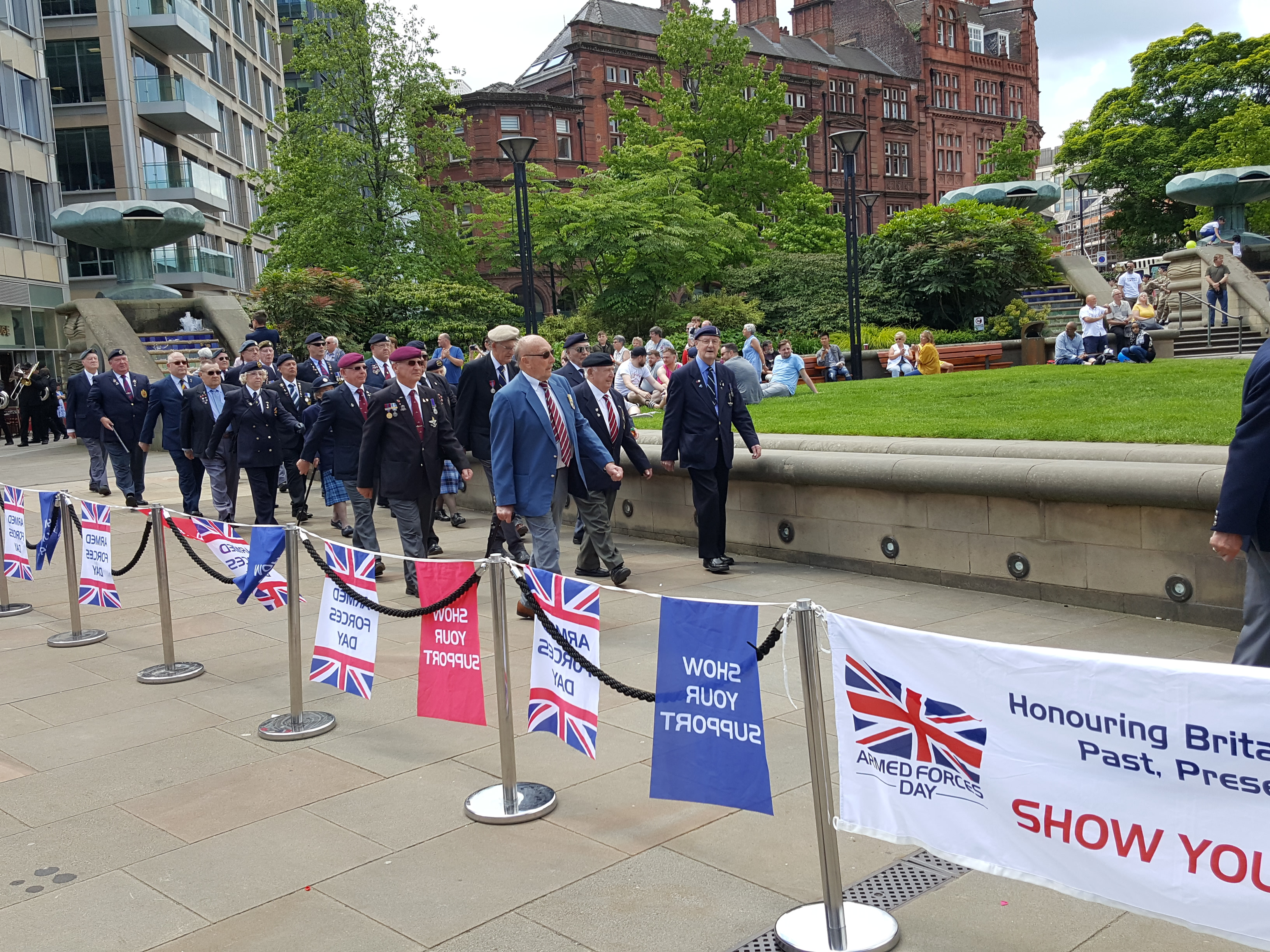 Armed Forces and Veterans Day 2019 in Sheffield