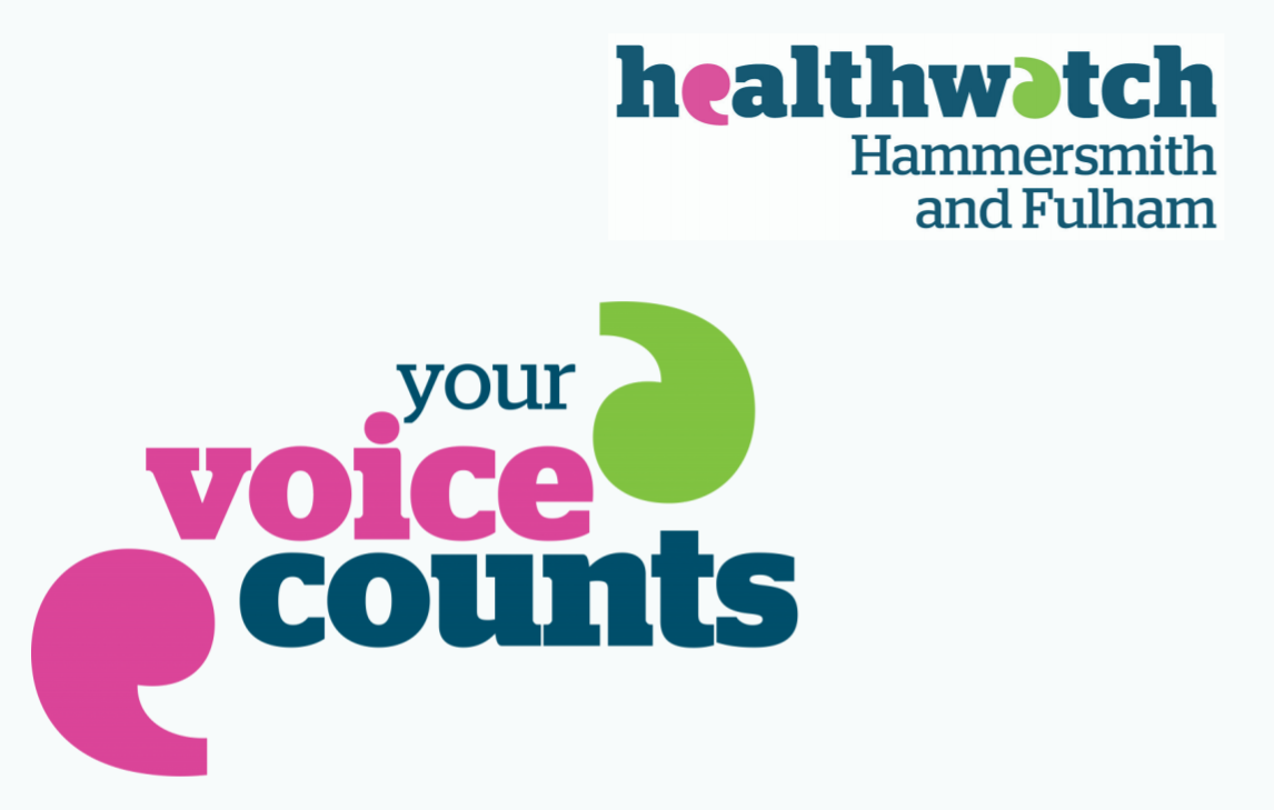 Healthwatch flyer Your Voice Counts
