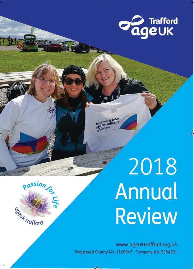 front cover of annual report