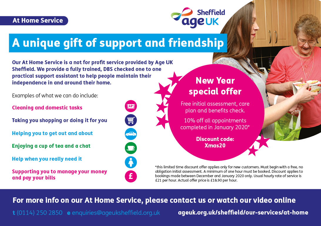 An Image detailing the New Year Offer