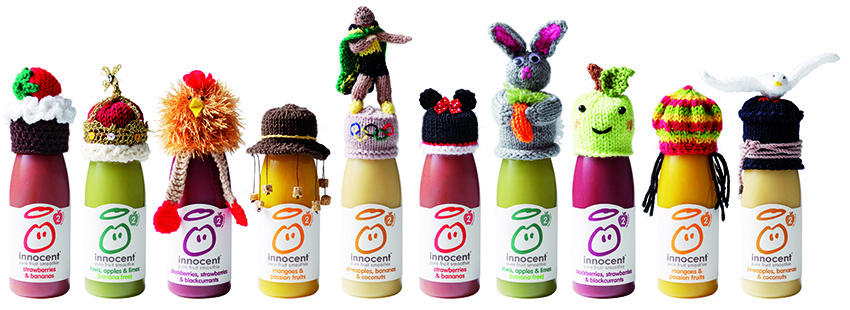 The Big Knit bottles