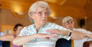 Age UK Barnet exercise classes for older people