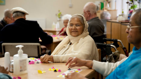Art and crafts group at Age UK Barnet