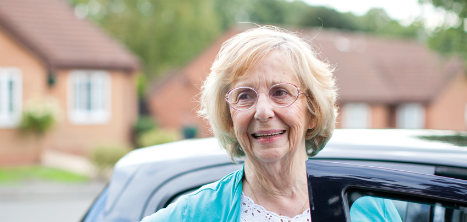 Age UK Barnet volunteer driver