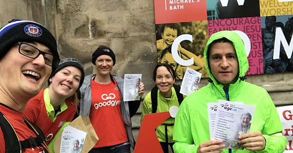 GoodGym deliver Age UK B&NES leaflets to pharmacies