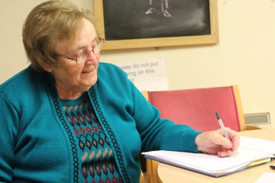 Moreen Parker from Bath Day Centre writes a poem