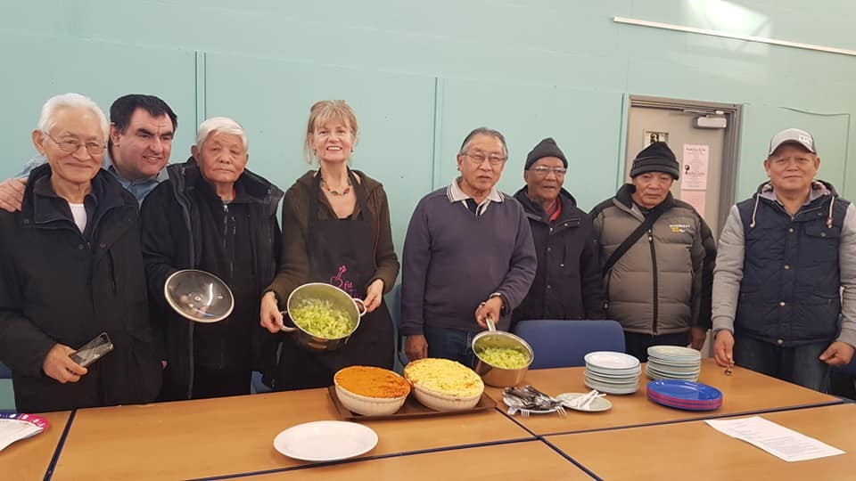 Gurkha Men's cooking group
