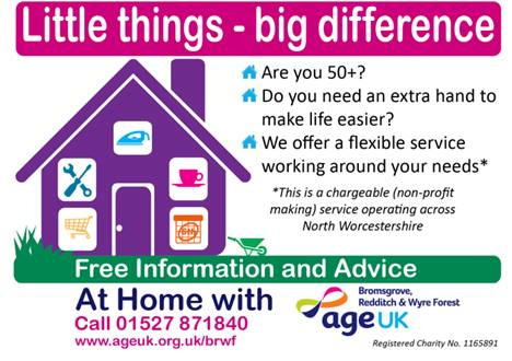 At Home with Age UK BRWF