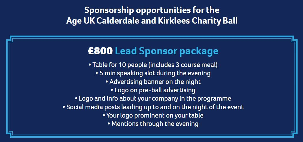 lead sponsor package