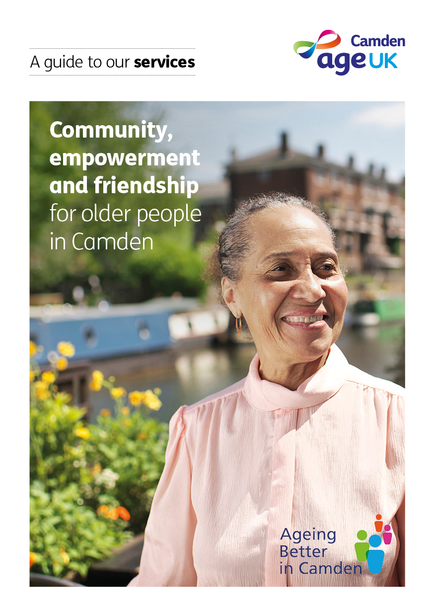 Welcome to Age UK Camden