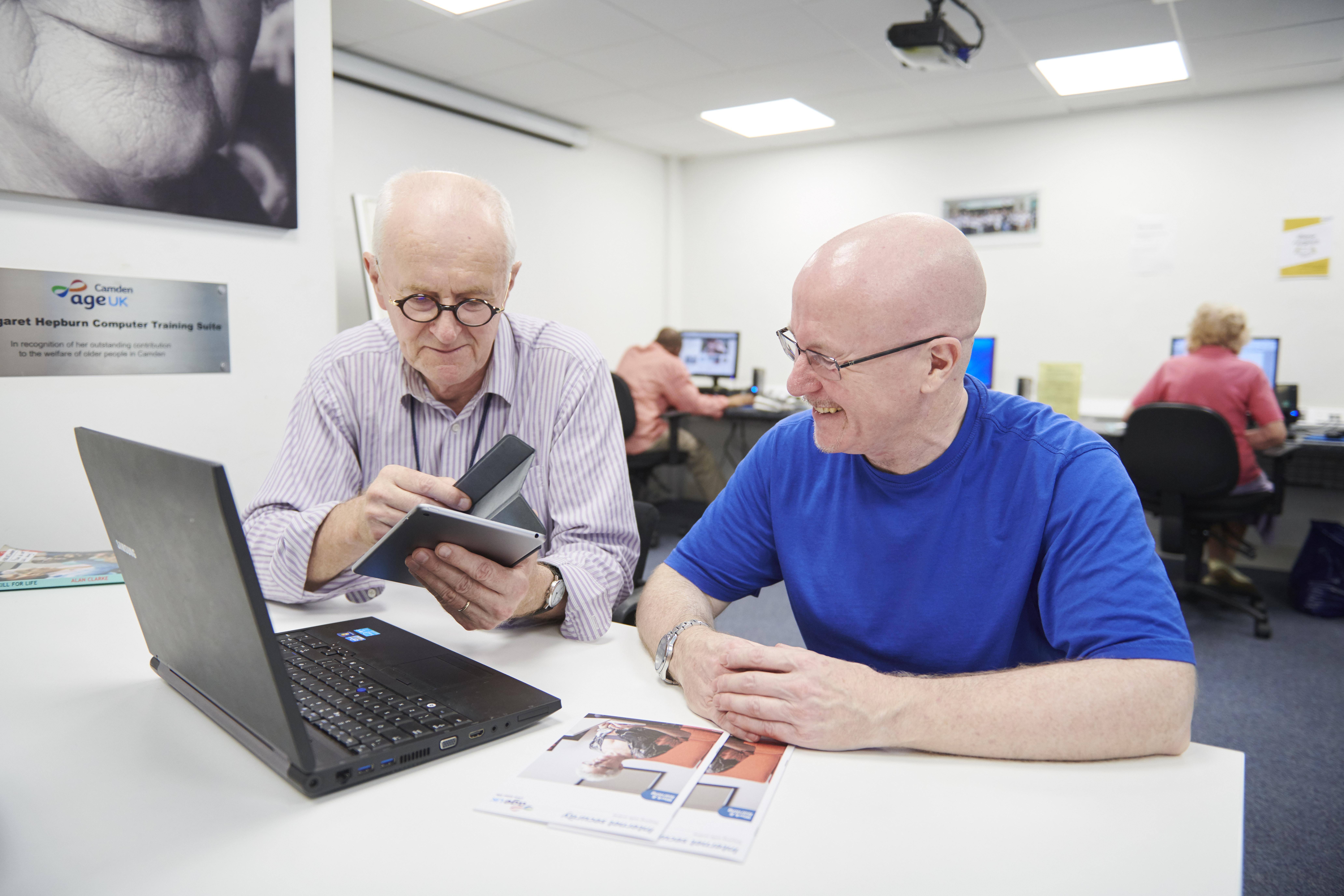 IT training and digital inclusion