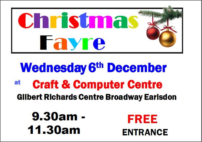Christmas fayre picture