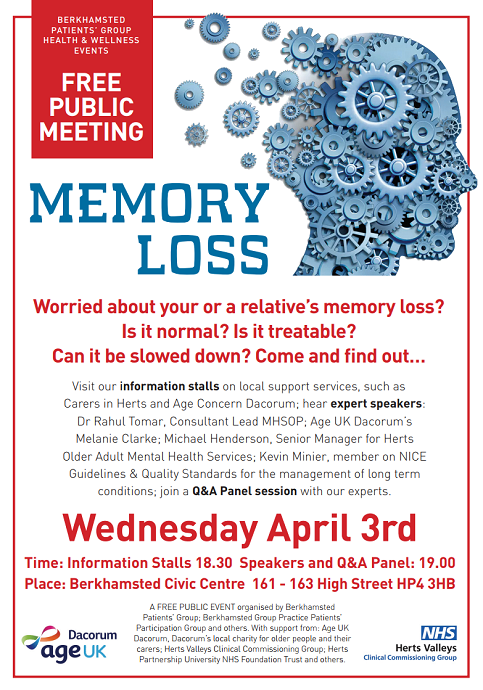 Memory Loss event