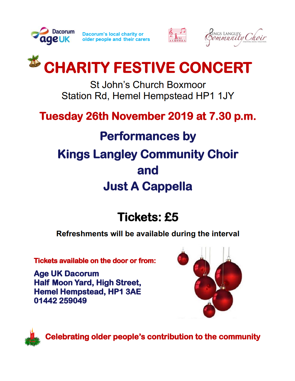 charity festive concert