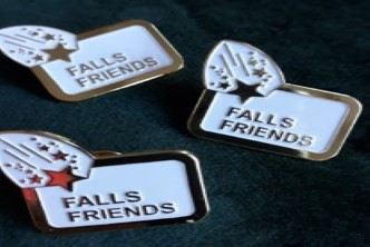 image of the falls friends badges