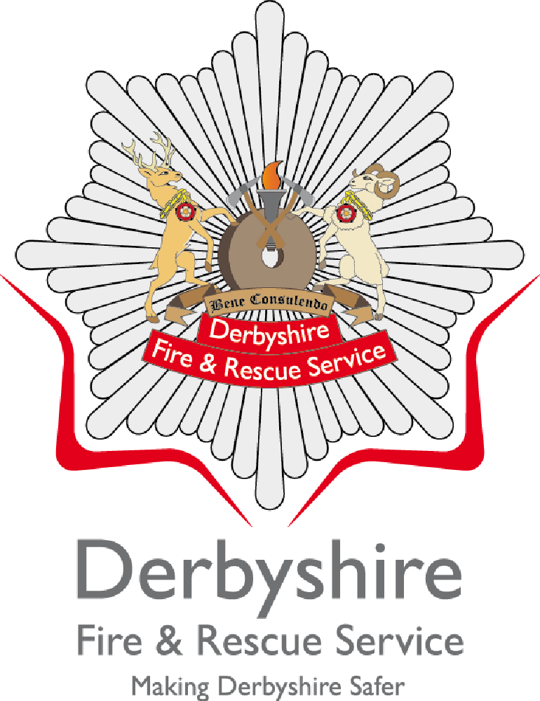 derbyshire fire rescue service logo