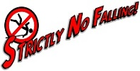 Strictly no falling logo