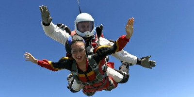 Photo of Parachute jump fundraising