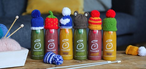 Line of Innocent smoothie hats