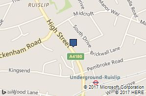 Age UK Hillingdon Ruislip Information and Advice Centre location map