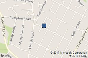 Age UK Hillingdon Townfield Centre Location Map