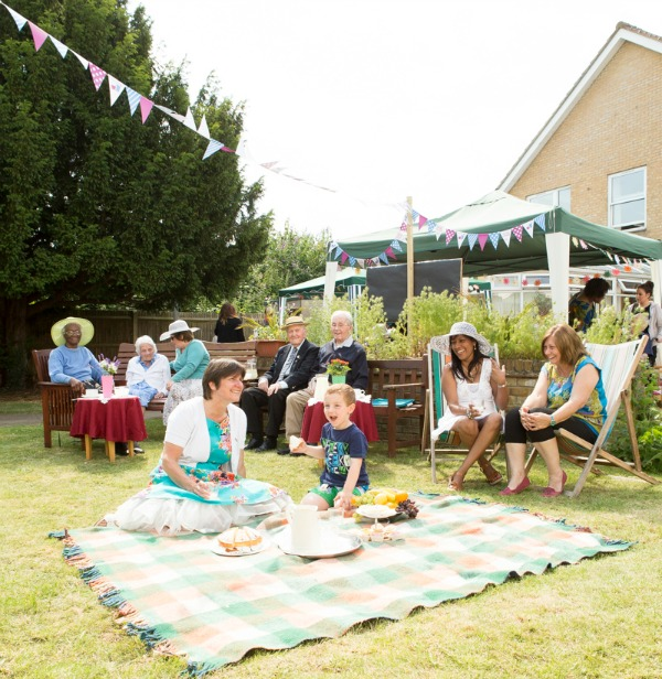 Picture of garden party