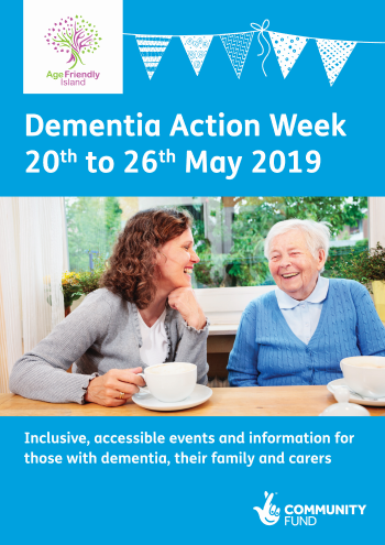 Dementia Action Week booklet cover