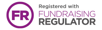 We are registered with the Fundraising Regulator