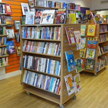 An interior view of our Oadby Bookshop
