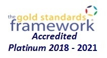 Platinum award from the Gold Standards Framework