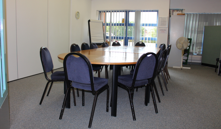 Room 4 is perfect for meetings and training sessions.