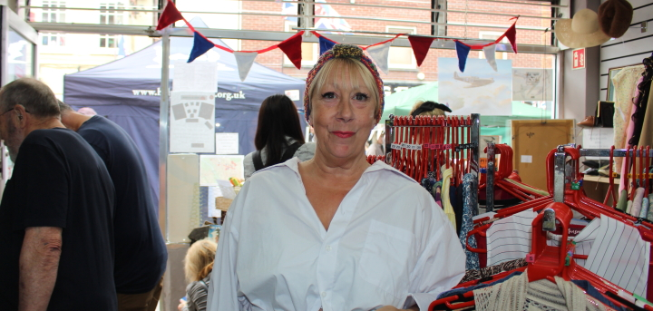 Shop Manager Tracey looked fabulous