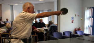 Ping pong at The Peartree Centre