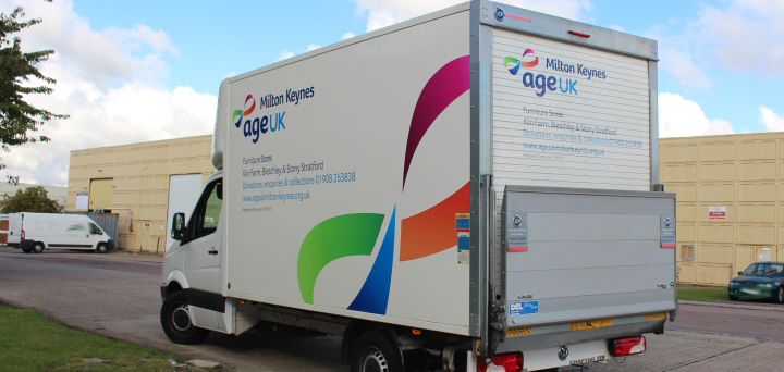 Look out for our delivery van