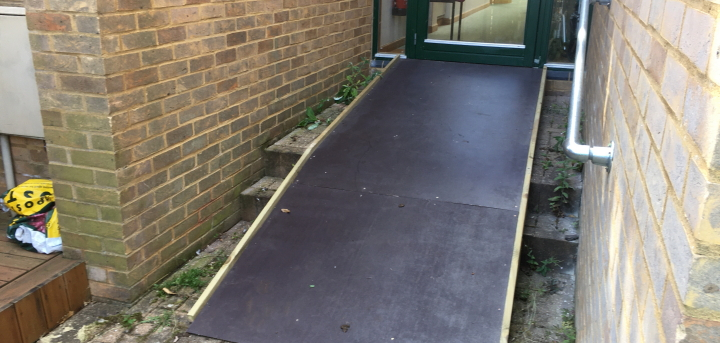 We can construct and install a ramp to make your property accessible.