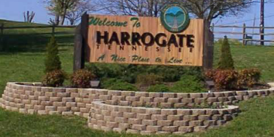 Sign for Harrogate