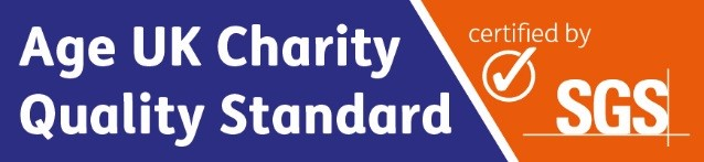 We achieved the Age UK Charity Quality Standard
