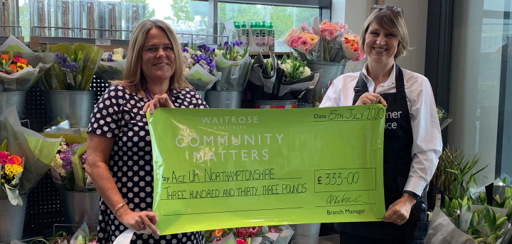 Thank you Waitrose & Partners of Wootton