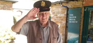 A military salute from Ron