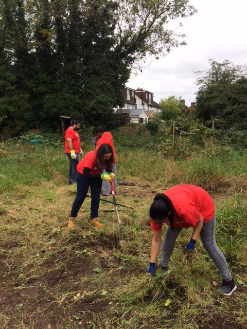 Santander clearning the allotment