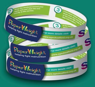 PaperWeight Armband Greater Manchester