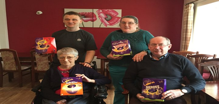 Easter Egg Donation Humphrey Booth Day Centre