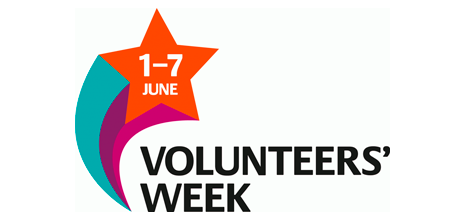 Volunteers' Week (1-7 June)