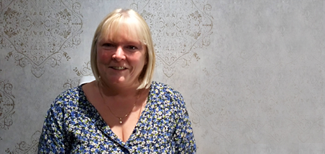 Home Support Worker Jayne Farmer