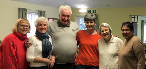 Age UK Shropshire Telford & Wrekin day centre volunteers