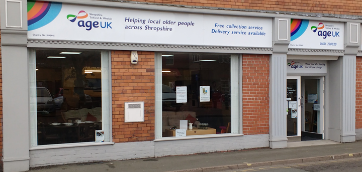 Our Oswestry charity shop
