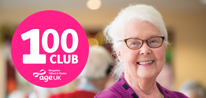Join our 100 club and help support local older people
