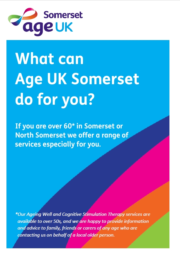 Age UK Somerset Leaflet