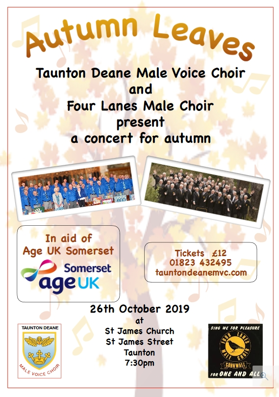 Autumn Leaves Fundraising Concert