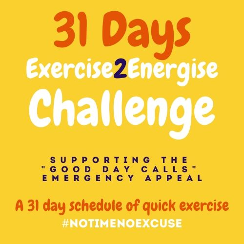 Take part in our 31 Day Challenge